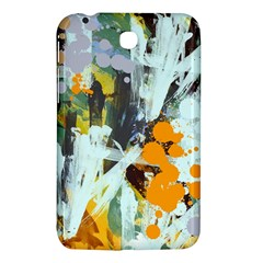 Abstract Country Garden Samsung Galaxy Tab 3 (7 ) P3200 Hardshell Case