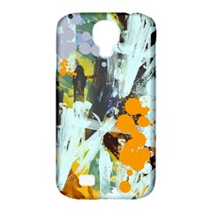 Abstract Country Garden Samsung Galaxy S4 Classic Hardshell Case (pc+silicone)