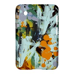 Abstract Country Garden Samsung Galaxy Tab 2 (7 ) P3100 Hardshell Case