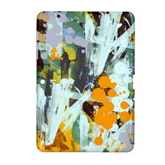 Abstract Country Garden Samsung Galaxy Tab 2 (10 1 ) P5100 Hardshell Case