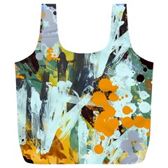Abstract Country Garden Full Print Recycle Bags (L)