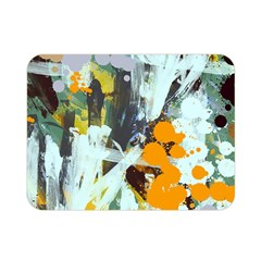 Abstract Country Garden Double Sided Flano Blanket (Mini)