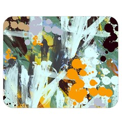 Abstract Country Garden Double Sided Flano Blanket (medium)