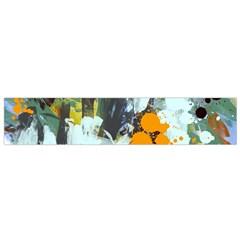 Abstract Country Garden Flano Scarf (small)
