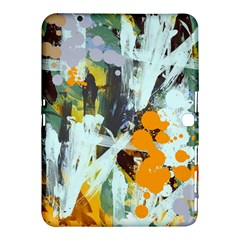 Abstract Country Garden Samsung Galaxy Tab 4 (10.1 ) Hardshell Case