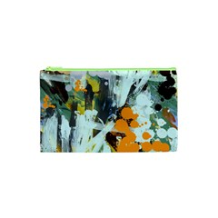 Abstract Country Garden Cosmetic Bag (XS)
