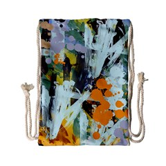 Abstract Country Garden Drawstring Bag (Small)