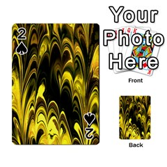Fractal Marbled 15 Playing Cards 54 Designs