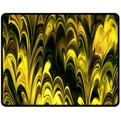 Fractal Marbled 15 Fleece Blanket (Medium)