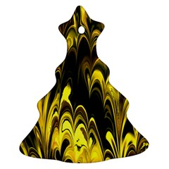 Fractal Marbled 15 Ornament (Christmas Tree)