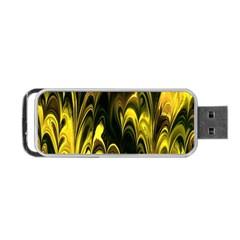 Fractal Marbled 15 Portable Usb Flash (one Side)