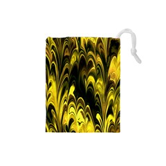 Fractal Marbled 15 Drawstring Pouches (small)