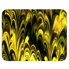 Fractal Marbled 15 Double Sided Flano Blanket (Medium)