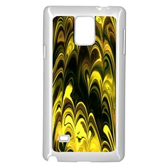Fractal Marbled 15 Samsung Galaxy Note 4 Case (White)