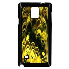 Fractal Marbled 15 Samsung Galaxy Note 4 Case (black)