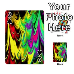 Fractal Marbled 14 Playing Cards 54 Designs