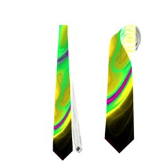 Fractal Marbled 14 Neckties (one Side)
