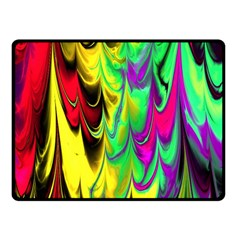 Fractal Marbled 14 Fleece Blanket (small)