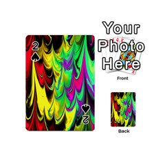 Fractal Marbled 14 Playing Cards 54 (Mini)