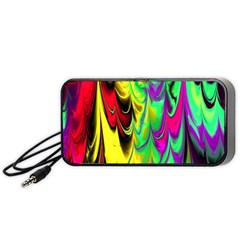 Fractal Marbled 14 Portable Speaker (black)