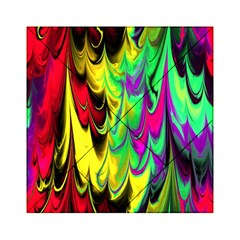 Fractal Marbled 14 Acrylic Tangram Puzzle (6  x 6 )