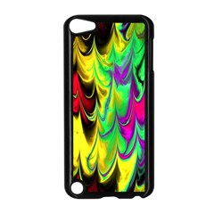 Fractal Marbled 14 Apple Ipod Touch 5 Case (black)