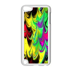 Fractal Marbled 14 Apple Ipod Touch 5 Case (white)