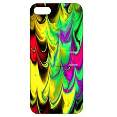 Fractal Marbled 14 Apple Iphone 5 Hardshell Case With Stand