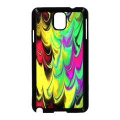 Fractal Marbled 14 Samsung Galaxy Note 3 Neo Hardshell Case (black)