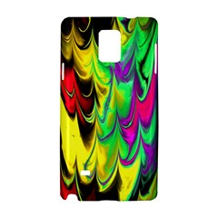 Fractal Marbled 14 Samsung Galaxy Note 4 Hardshell Case
