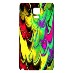 Fractal Marbled 14 Galaxy Note 4 Back Case