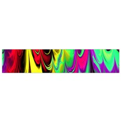 Fractal Marbled 14 Flano Scarf (small)