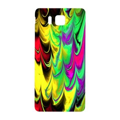 Fractal Marbled 14 Samsung Galaxy Alpha Hardshell Back Case