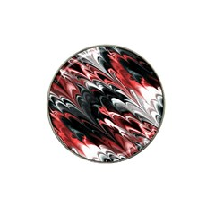 Fractal Marbled 8 Hat Clip Ball Marker (10 Pack)