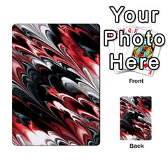 Fractal Marbled 8 Multi Purpose Cards (rectangle)
