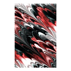 Fractal Marbled 8 Shower Curtain 48  X 72  (small)