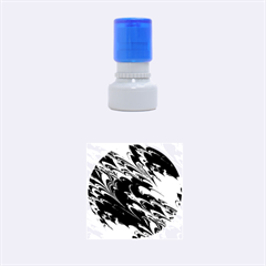 Fractal Marbled 8 Rubber Round Stamps (Small)