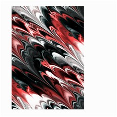 Fractal Marbled 8 Large Garden Flag (Two Sides)