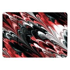 Fractal Marbled 8 Samsung Galaxy Tab 8 9  P7300 Flip Case
