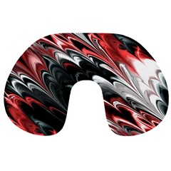 Fractal Marbled 8 Travel Neck Pillows