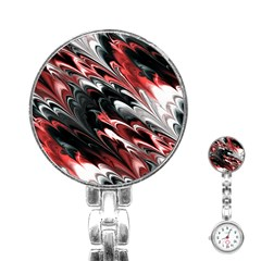 Fractal Marbled 8 Stainless Steel Nurses Watches