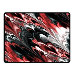 Fractal Marbled 8 Double Sided Fleece Blanket (Small)