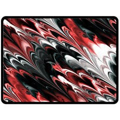 Fractal Marbled 8 Double Sided Fleece Blanket (Large)