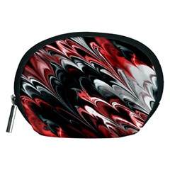 Fractal Marbled 8 Accessory Pouches (medium)