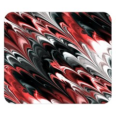 Fractal Marbled 8 Double Sided Flano Blanket (Small)
