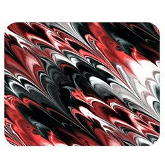 Fractal Marbled 8 Double Sided Flano Blanket (Medium)