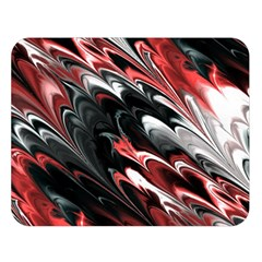 Fractal Marbled 8 Double Sided Flano Blanket (Large)