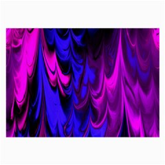 Fractal Marbled 13 Large Glasses Cloth (2 Side)