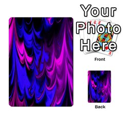 Fractal Marbled 13 Multi Purpose Cards (rectangle)