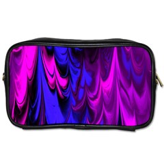 Fractal Marbled 13 Toiletries Bags 2 Side
